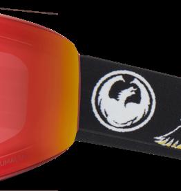 Dragon Alliance 2019 Dragon Alliance PXV Goggles Eagle/LL Red Ion + LL Amber