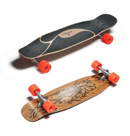 "Loaded Loaded Longboards Complete - POKE with Carver trucks 34"" x 9.1 x 20.75 wb"