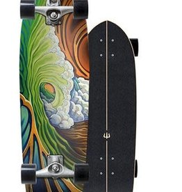 Carver Carver C7 Raw Greenroom - Skate Cruiser - 33.75""