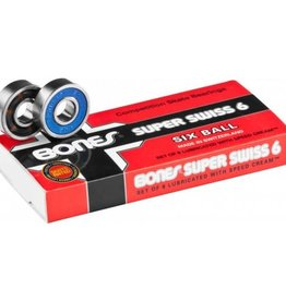 Bones Bones Bearings - Super Swiss 6 Bearings (8 pack)