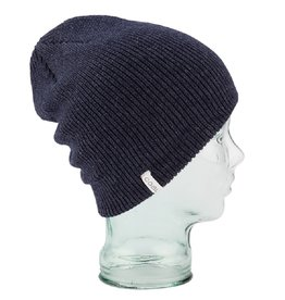 Coal The Frena Solid Beanie - Heather Navy
