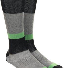 Homeschool Homeschool Outerwear Snowboard Socks Black/Green L/XL