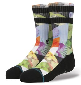Stance Stance Triad Youth Socks - White Large (2-2.5)