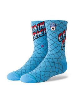 Stance Stance Socks Boys - Captain America - L (2 - 5.5)