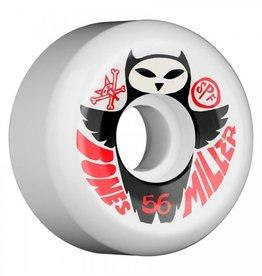 Bones Wheels SPF Chris Miller Owl Wheels 56mm (set of 4)