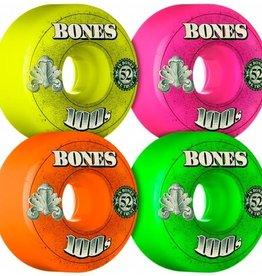 Bones Bones Wheels OG Formula 100's - 52mm 100a - Assorted 4PK