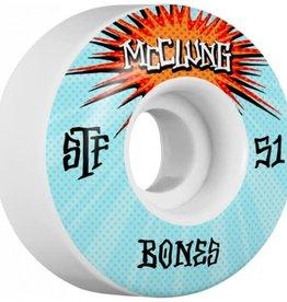 Bones Bones STF V1 McClung Blast Wheels 51mm 103A (set of 4)