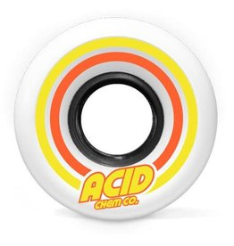 Acid Chemical Co. Acid Pods Conical Wheels 55mm 86a White (Set of 4)