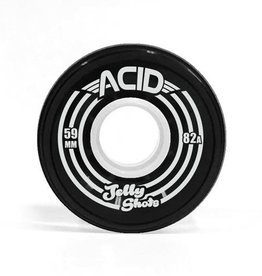 Acid Chemical Co. Acid Chemical Co. Jelly Shots Wheels 59mm 82a Black (Set of 4)