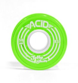 Acid Chemical Co. Acid Chemical Co. Jelly Shots Wheels 59mm 82a Green (Set of 4)