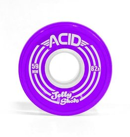 Acid Chemical Co. Acid Chemical Co. Jelly Shots Wheels 59mm 82a Purple (Set of 4)
