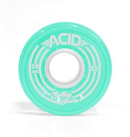 Acid Chemical Co. Acid Chemical Co. Jelly Shots Wheels 59mm 82a Teal (Set of 4)