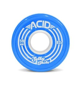 Acid Chemical Co. Acid Chemical Co. Jelly Shots Wheels 59mm 82a Blue (Set of 4)