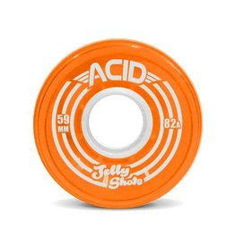Acid Chemical Co. Acid Chemical Co. Jelly Shots Wheels 59mm 82a Orange (Set of 4)