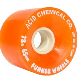 Acid Chemical Co. Acid Chemical Co. Classic Cut Wheels Orange 65mm 78a (Set of 4)