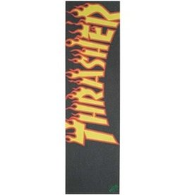 "Mob Grip Mob - Thrasher Flame Logo Griptape 9"" x 33"""