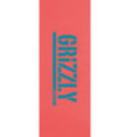 "Grizzly Grizzly-Reverse Stamp Grip 9"" x 33"" -Coral"