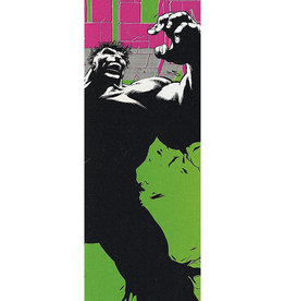 "Grizzly Grizzly Grizz x hulk Biebel Cover Griptape 9"" x 33"" - Multi Color"