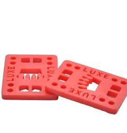 """Luxe LUXE - 2pc Risers - Red 1/2"""" Wedge"""