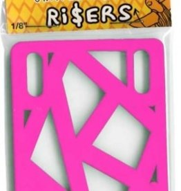 Krooked Krooked 1/8 Hot Pink Shock Risers (Set of 2)