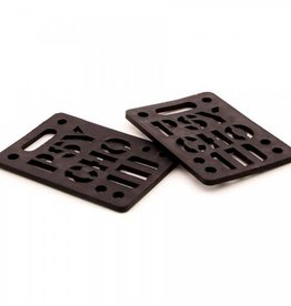 Psycho Psycho 1/2 Shock Risers Black (Set Of 2)