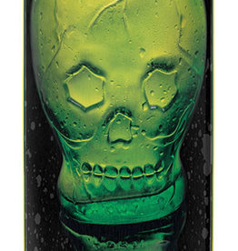 "Santa Cruz Skateboards Santa Cruz Green Skull Everslick Deck 8.59"" x 32.17"""