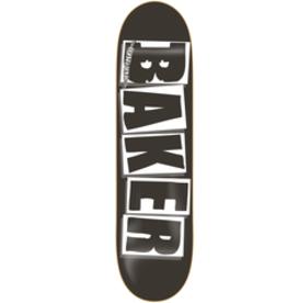 """Baker Baker Brand Logo Black / White Deck 8.25 x 31.50"""" x 14.25WB"""