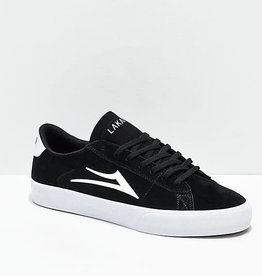 Lakai Lakai Newport Skate Shoes - Black/White Suede