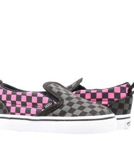 Vans Vans Classic Slip-On Toddler Skate Shoes - Checkerboard / Carmine Rose