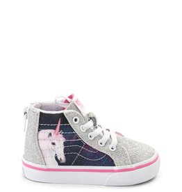 Vans Vans Sk8-Hi Zip Toddler Skate Shoes - Unicorn
