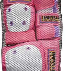 Impala Rollerskates Impala Adult Protective Set (Knee Pad/Elbow Pad/Wrist Guard) - Pink