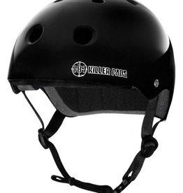 187 Killer Pads 187 Killer Pads Pro Skate Helmet Gloss Black - XXL