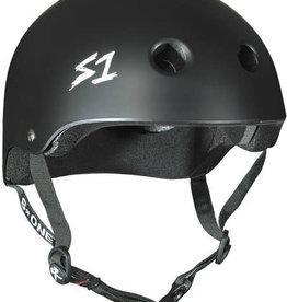 S-One Helmets S-One Helmet Lifer CPSC Helmet - Black Matte