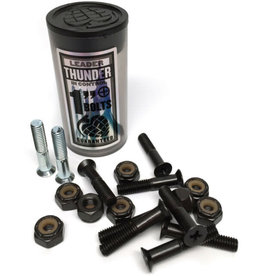 "Thunder Trucks Thunder Bolts Hardware 1"" Black/Silver Phillips"