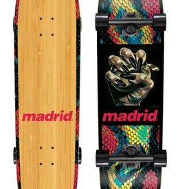 Madrid Madrid Space Owl Temptation Bamboo Complete Cruiser 32.75""