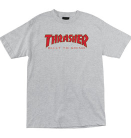 Independent Independent x Thrasher Built To Grind SS Shirt - Heather Grey