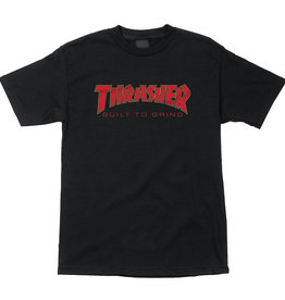 Independent Independent x Thrasher Built To Grind SS Shirt - Black
