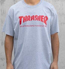 Thrasher Thrasher Skate Mag  T-Shirt - Grey/Red