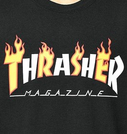 Thrasher Thrasher Flame Mag T-Shirt - Black