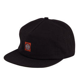 Independent Independent Banner Label Snapback Hat - Black