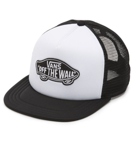Vans Vans Classic Patch Trucker Hat - White/Black