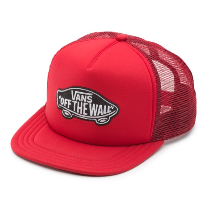 Vans Vans Classic Patch Trucker Youth Hat - Red