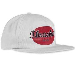 Thrasher Thrasher Oval Snapback Hat - White