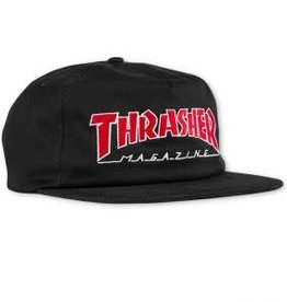 Thrasher Thrasher Outlined Snapback Hat - Black