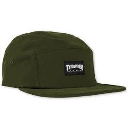Thrasher Thrasher 5 Panel Hat - Army Green One Size
