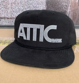 ATTIC Attic 70's Rope Snapback Hat - Black