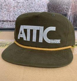 ATTIC Attic 70's Rope Snapback Hat - Loden