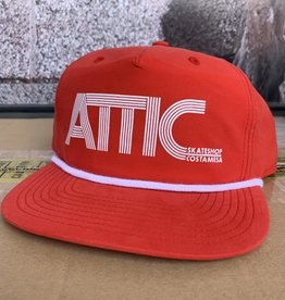 ATTIC Attic 70's Rope Snapback Hat - Red