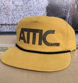 ATTIC Attic 70's Rope Snapback Hat - Biscuit