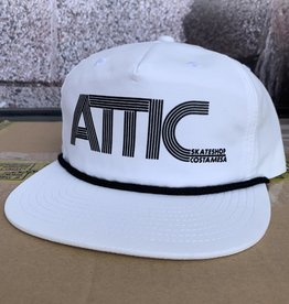 ATTIC Attic 70's Rope Snapback Hat - White